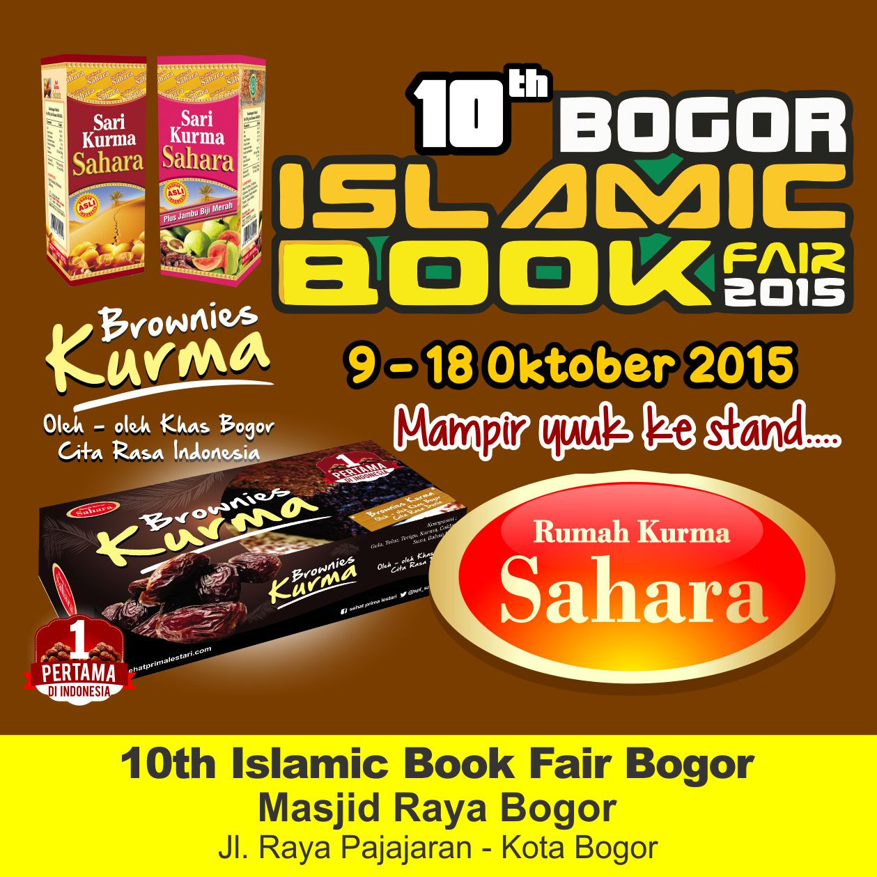 Islamic Book Fair Bogor 10TH 2015